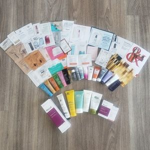Skincare Sample Lot w/50+ items!